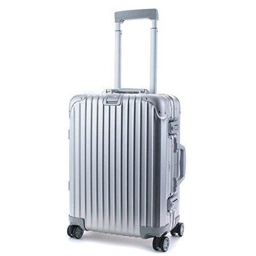 (リモワ)RIMOWA トパーズ 34L スーツケース TOPAS CABIN 53 MW SILVER トパス キャビン マルチホイール 923.53 アルミ シルバー TSA [並行輸入品]