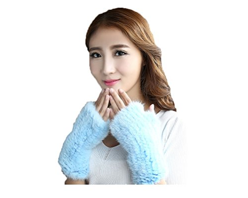 Fur knit gloves arm warmers gloves glove hand warm mink fur knit gloves fur real fur arm warmers fur gloves glove finger without smartphones Ladies No I had pinky finger Fir Grove smartphone cute knit winter