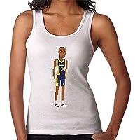 RHEYJQA Reggie Miller Body Pixel Women's Vest