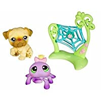 Littlest Pet Shop Pet Pairs Asst - Dog and Spider