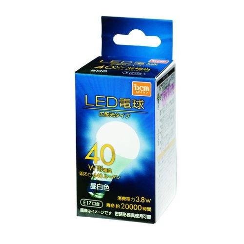 LED電球 広配光 40W相当 LDA4NG-E174T5E1 E17 40W相当