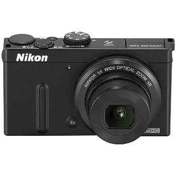 Nikon デジタルカメラ COOLPIX P330 開放F値1.8NIKKORレンズ搭載 裏面照射型CMOSセンサー搭載 ブラック P330BK