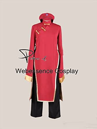 [ウェブエッセンス] コスプレ衣装 Axis powers ヘタリア にょたりあ 中国娘  2Pカラー風 コスプレ コスチューム オリジナル ブレスレット 付き