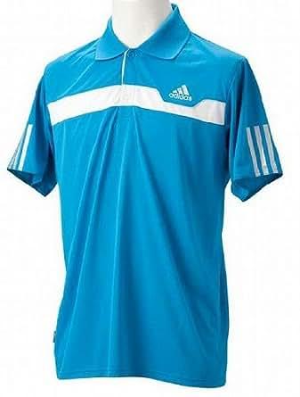 (アディダス)adidas M ADIFUTURE FX S/S ポロシャツ RL282 O16547 ターコイズ L