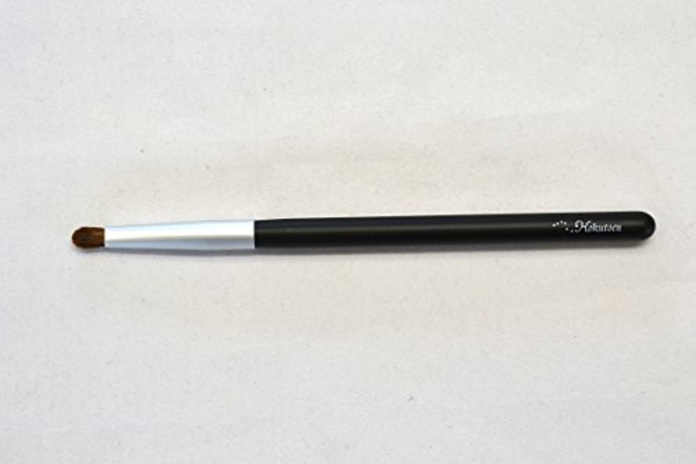 地上でライム毎月熊野筆 北斗園 Kシリーズ シャドウライナーブラシ(黒銀)
