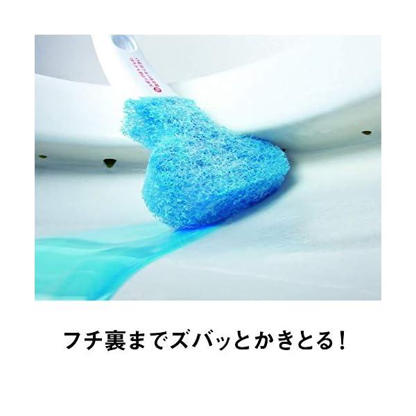 3M トイレブラシ クリーナー 洗剤付 取替1...の紹介画像3
