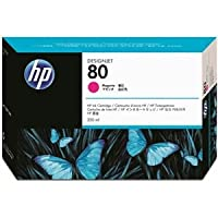 (まとめ) HP80 インクカートリッジ マゼンタ 350ml 染料系 C4847A 1個 【×3セット】 ds-1578464