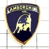 限定 レア ピンバッジ ランボルギーニ車エンブレム牛 ピンズ フランス