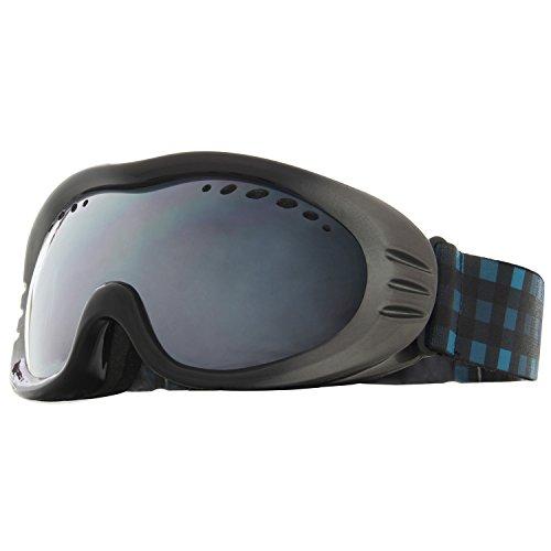 VAXPOT(バックスポット) ゴーグル メガネ併用 ミラーレンズ ダブルレンズ くもり止め加工 UVカット メンズ・レディース兼用 VA-3610 BLK(眼鏡対応) フリーサイズ