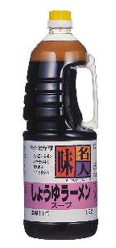 味名人 ラーメンスープ 醤油味 1.8L