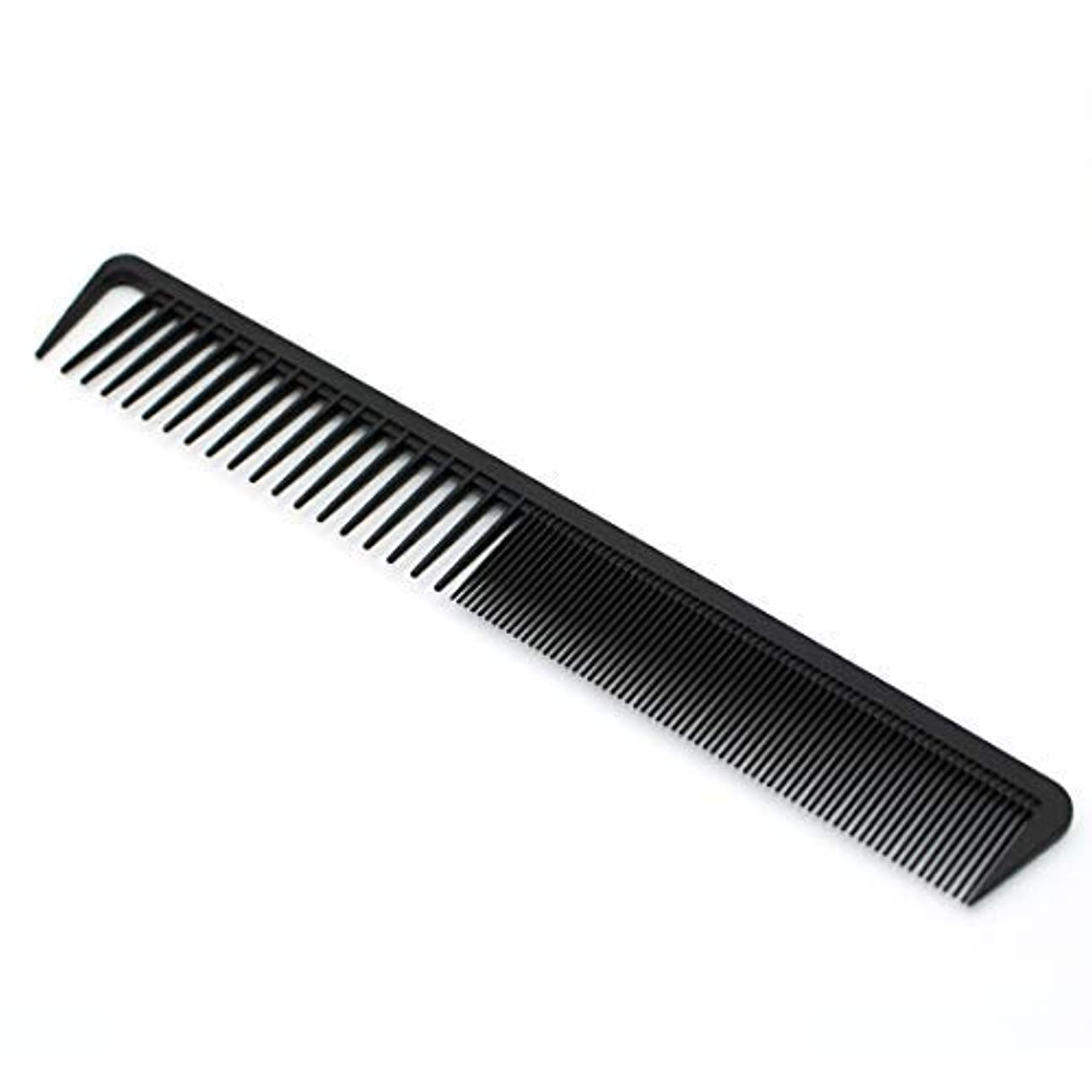 全体に失望させる不振Cyrus Professional Hair Comb,Black Anti-Static Not Easy To Break Fine&Wide Tooth Comb Suitable For All Kinds Of...