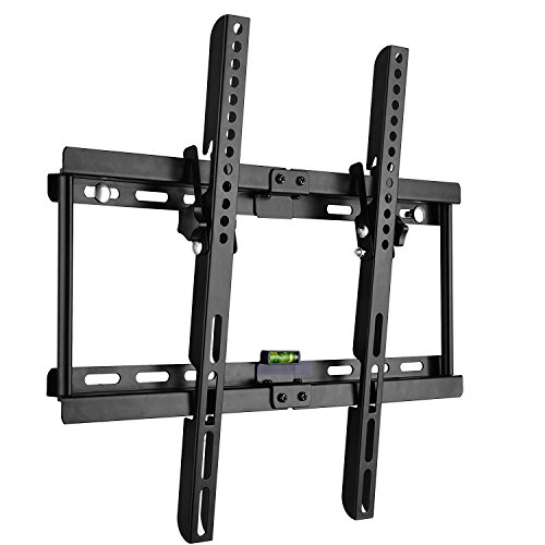 【Leyoyo】 テレビ 壁掛け金具 左右移動式 上下角度調節可能 (23〜55インチ対応、VESA 400mmx400mm以内)