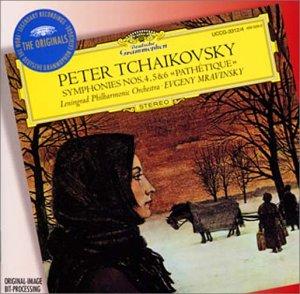 チャイコフスキー:交響曲第4番、第5番、第6番「悲愴」の詳細を見る