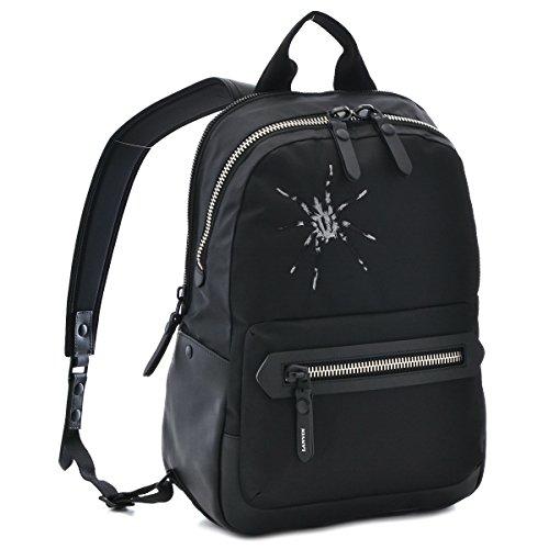 LANVIN/(ランバン) バッグ メンズ NYLON バックパック/リュック ブラック ESAS-NYLR-10 [並行輸入品]