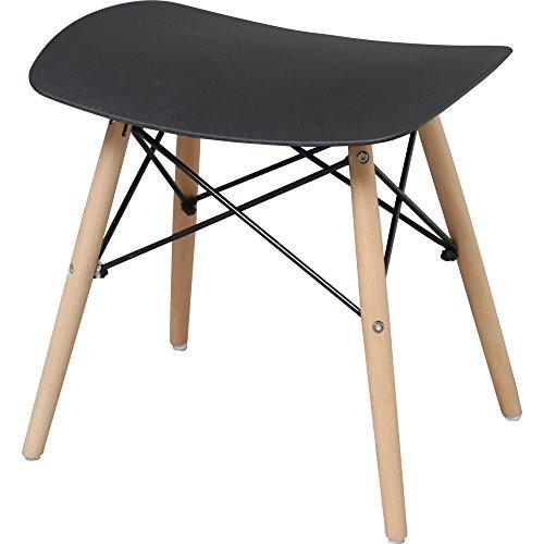 椅子 イームズチェア スツール デザイナーズ リプロダクト ブラック PP-638
