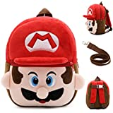 Dog Backpack, Pet Dog Cartoon Backpack Saddle Backpack Puppy Dog Cute Back Pack Harness with Leash Fits to Small Medium Dogs.