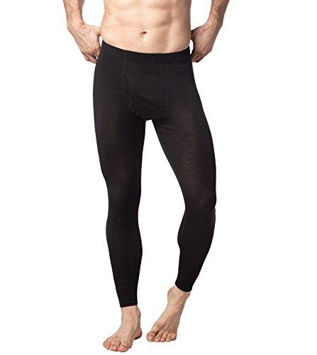 (ラパサ)Lapasa メンズ肌着 ロングパンツ メリノウール素材 防寒 保温 長ズボン下 紳士インナー M30 (M(USサイズ)=日本サイズL相当)