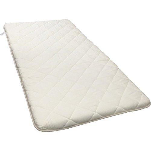 敷布団 日本製 抗菌 防臭 防ダニ 吸汗 速乾 超ボリューム 3層 厚さ11cm セミダブル ホワイト