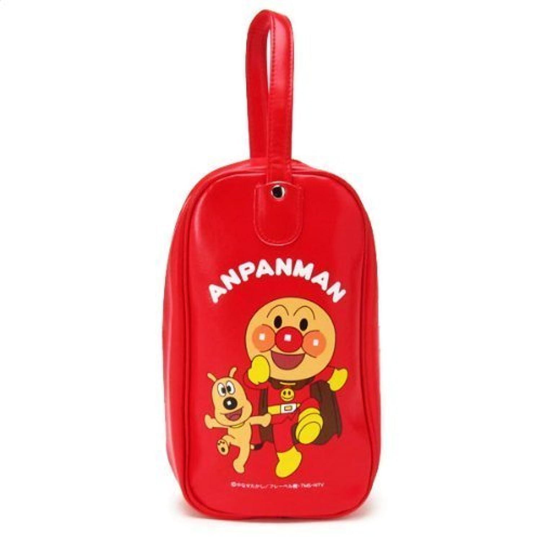 アンパンマン シューズバッグ 赤