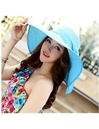 夏日の雨 レデイース 麦わら帽子 ストローハット 折りたたみ つば広 日焼け防止 紫外線対策 ビーチ 遠足
