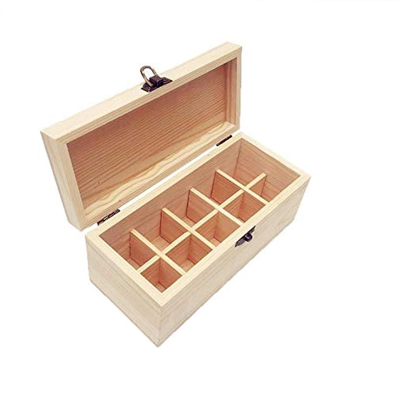 セグメントホイスト無限エッセンシャルオイル収納ケース 精油収納ボックス 木製 10本入り 取り外し可能 多機能収納ボックス 30mlの精油ボルトに対応 junexi