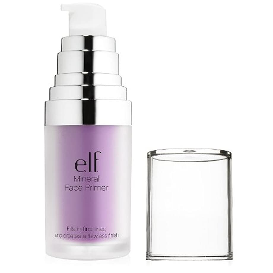 に話すパステルメッシュ(6 Pack) e.l.f. Studio Mineral Infused Face Primer - Brightening Lavender (並行輸入品)
