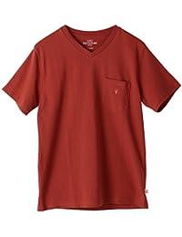 (コーエン) COEN USAコットンVネックポケットTシャツ(ネイビー⇒WEB限定カラー) 75256028007