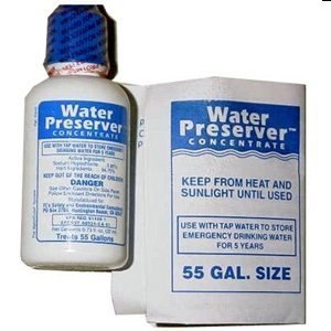 55 Gallon Water Preserver Concentrate 5 Year Emergency Disaster Preparedness, Survival Kits, Emergency Water Storage, Earthquake, Hurricane, Safety by SurvivalKitsOnline