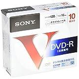 SONY 録画用DVD-R  CPRM対応 120分 16倍速 10枚パック 10DMR12MLPS