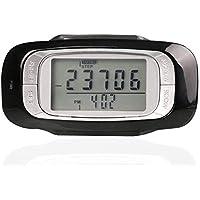 Pingko Walking 3d歩数計、7日間メモリー毎日、非常に正確なステップカウンター、距離/カロリーカウンター、ターゲットパフォーマンスモニタ、フィットネストラッカーポケット歩数計
