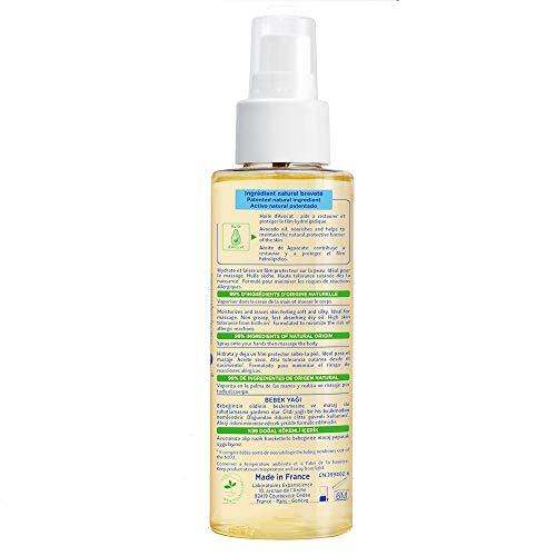 Mustela Baby Massage Oil - for Normal Skin, 3.38 fl.oz