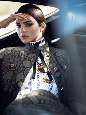 Kendall Jenner 24X36 Poster FUA #TTG777269 by BSD Grand Products [並行輸入品]