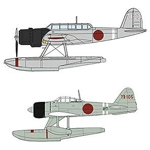 ハセガワ 1/72 日本海軍 零式水上偵察機 & 二式水上戦闘機 神川丸搭載機 プラモデル 02289