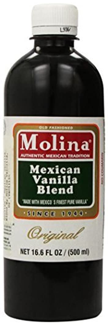 美的ポルトガル語葉Mexican Vanilla Blend By Molina Vainilla 16.6 Oz (Vanillin Extract) [並行輸入品]