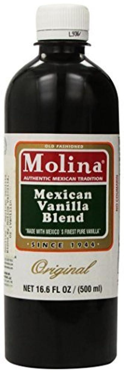 研究組自分を引き上げるMexican Vanilla Blend By Molina Vainilla 16.6 Oz (Vanillin Extract) [並行輸入品]