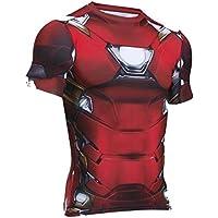UNDER ARMOUR(アンダーアーマー) ヒートギア コンプレッション 半袖 メンズ Tシャツ オルターエゴ アイアンマン メンズ Tシャツ 1273694 [並行輸入品]