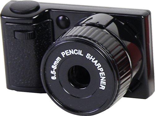 カメラ シャープナー カメラの形をしたおしゃれ鉛筆削り 携帯用