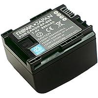 【ロワジャパン社名PSEマーク付】【全機種/純正充電器/残量表示 -全対応】CANON キヤノン iVIS HF G10 G20 M32 M43 S10 S11 の BP-808 BP-808D BP-809 互換 バッテリー