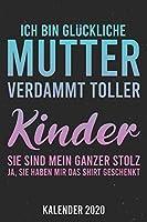 Kalender 2020: Glueckliche Mutter A5 Kalender Planer fuer ein erfolgreiches Jahr - 110 Seiten