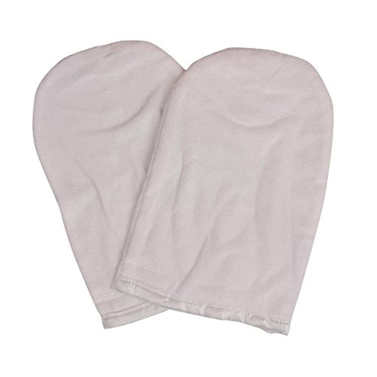 頭分散傀儡パラフィン用ハンドグローブ 全2色 (ホワイト) パラフィンパック パラフィン ハンド グローブ (ハンド用)