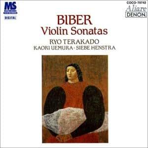 ビーバー:ヴァイオリン・ソナタ集