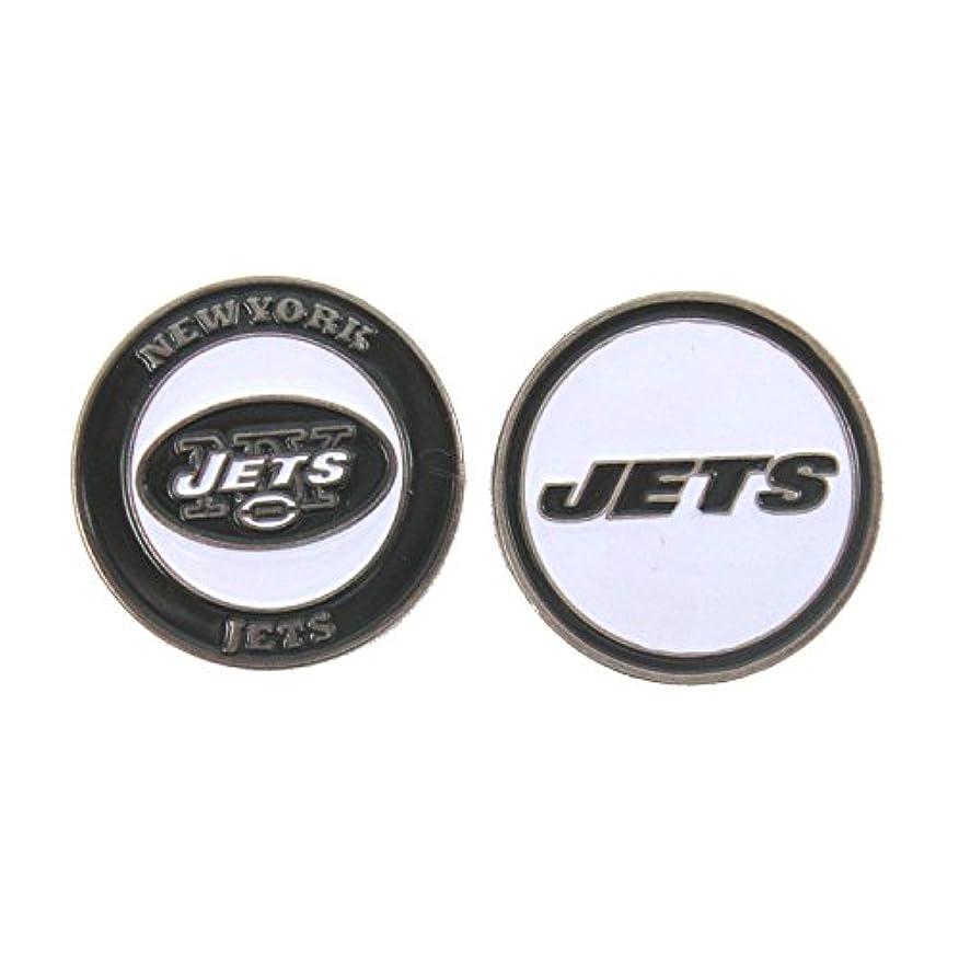 酸化するスツールベテランNew York Jetsゴルフボールマーカー両面