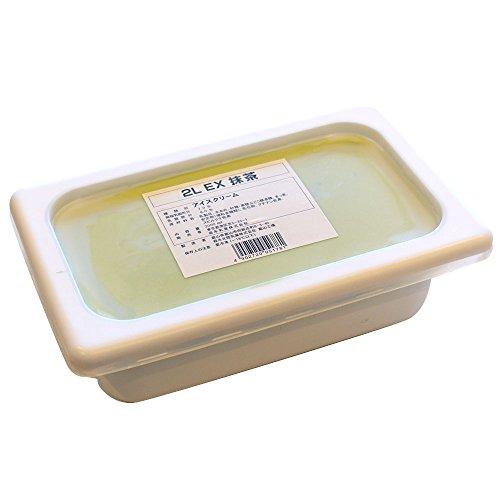 【冷凍】森永 EX(エクセレント)抹茶アイス 2L …