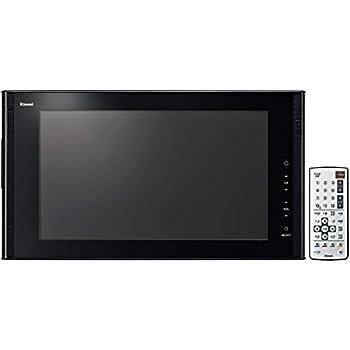リンナイ 16V型地上・BS/110度CSデジタルハイビジョン浴室テレビ(ブラック) ブラック DS-1600HV-B