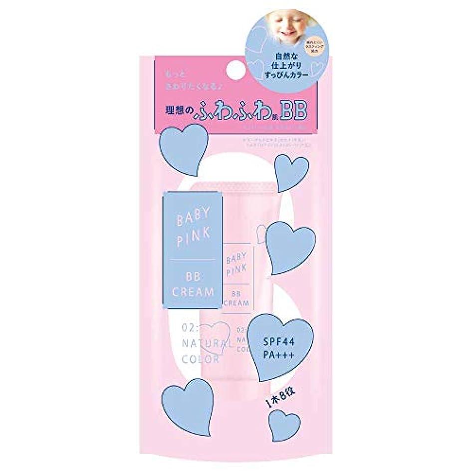 部屋を掃除する類推裁定ベビーピンク BBクリーム 02:ナチュラルカラー 22g