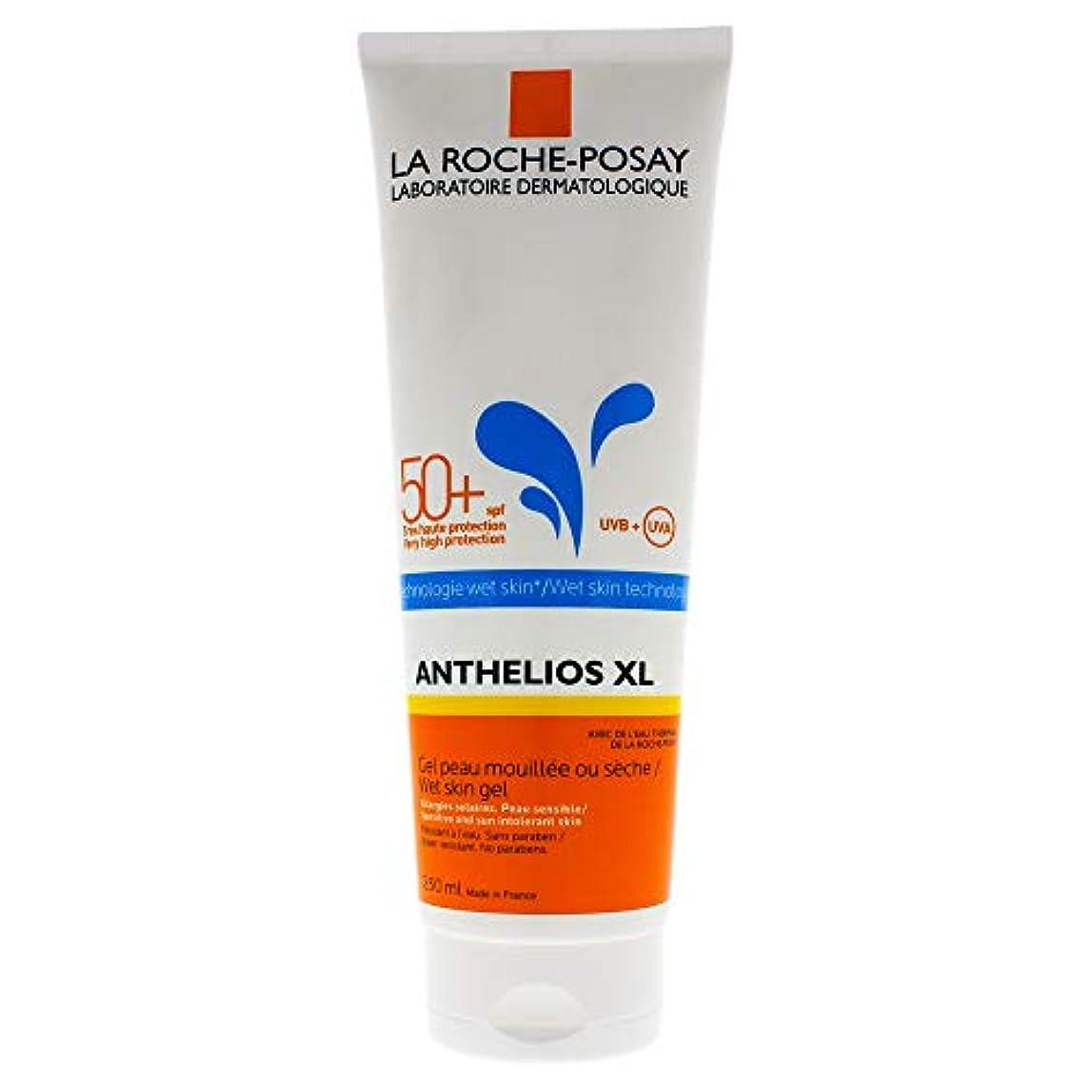 デンマークインポート策定するLa Roche-Posay(ラロッシュポゼ) 【濡れた肌にも使える日やけ止めジェルクリーム】アンテリオス XL ウェットスキン SPF50+/PA++++ 250mL <フェイス?ボディ用>
