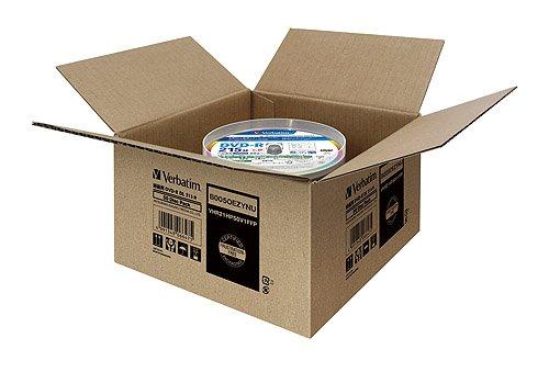 『三菱ケミカルメディア Verbatim 1回録画用 DVD-R DL VHR21HP50V1FFP(片面2層/8倍速/50枚) [フラストレーションフリーパッケージ(FFP)]』の3枚目の画像