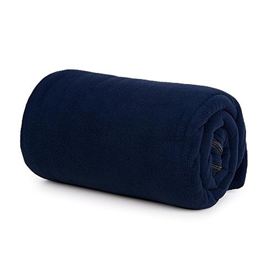 整然としたくしゃくしゃ戻るユーラー 寝袋 シュラフ インナー 軽量 フリース ブランケット 冬用 封筒型 アウトドア 車中泊 防寒 収納袋付き 丸洗い