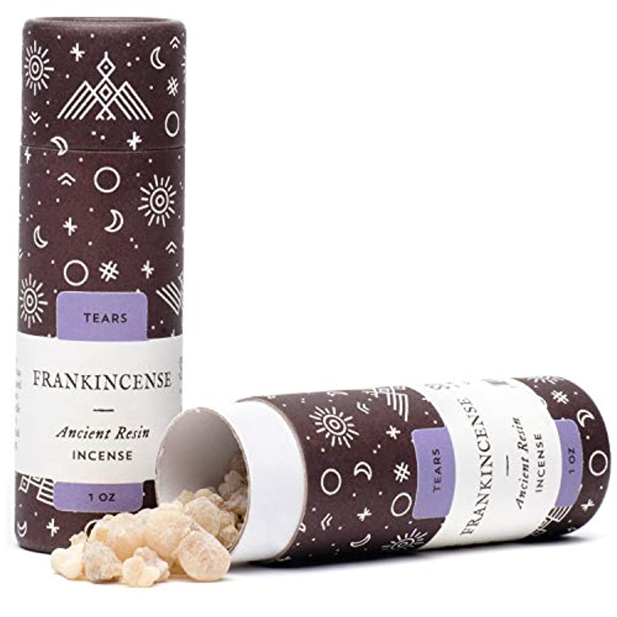 血まみれ振動させる腐ったFrankincense Tears古代樹脂Incense – 1オンス