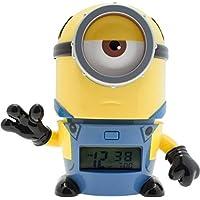 [バルブボッツ]BULBBOTZ LEGO WATCH キッズ おしゃべり 光る目覚まし時計 怪盗グルー ミニオンズ メル 置き時計 デジタルクロック 2021234 時計 [並行輸入品]